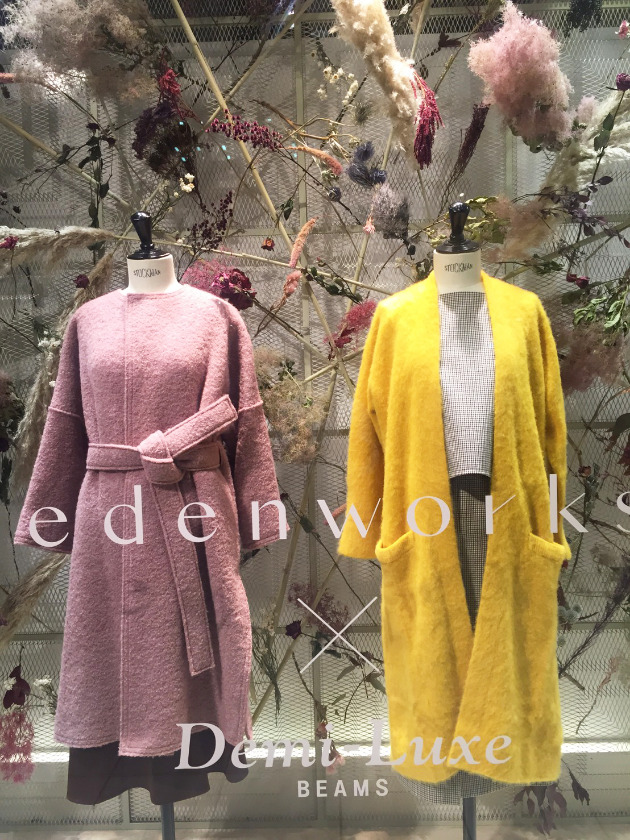 edenworks×Demi-Luxe BEAMS <THE NEW GARÇONNE>