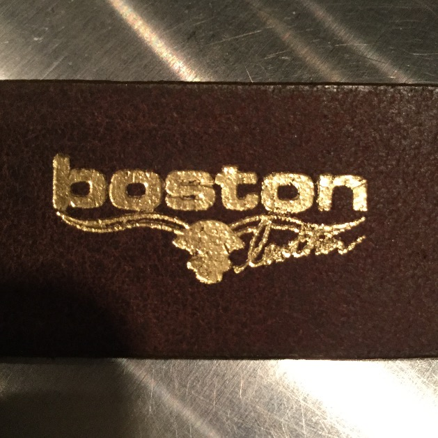 Boston Leather(ボストン レザー)Sizing Belt