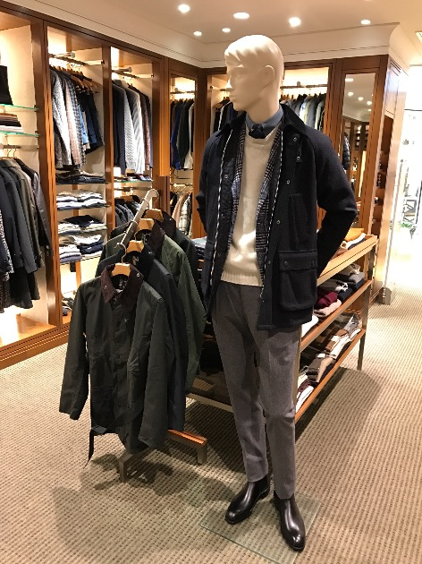 BARBOUR  BEAMS EXCLUSIVEモデル