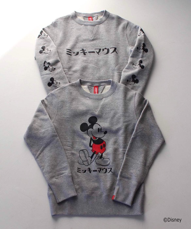 LOOPWHEELER×BEAMS JAPAN Disney Item
