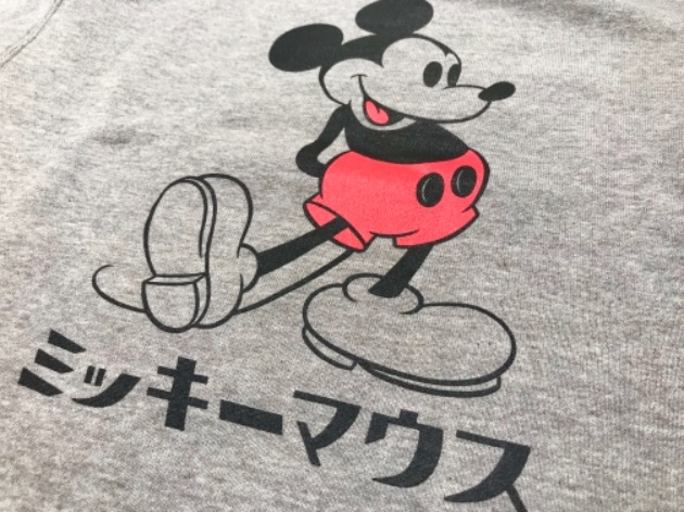 本日発売!!LOOPWHEELER ×BEAMS JAPAN  Disney Item more!