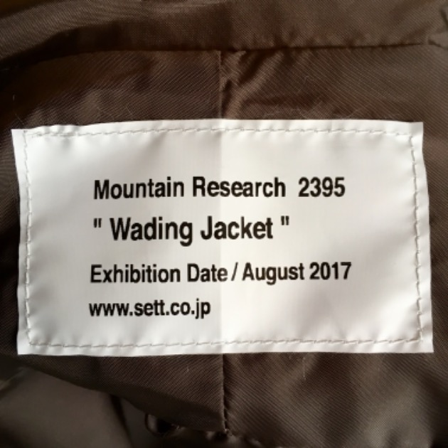 "Mountain Research ""Wading Jacket"""