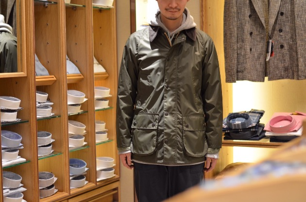 BARBOUR×BEAMS PLUS