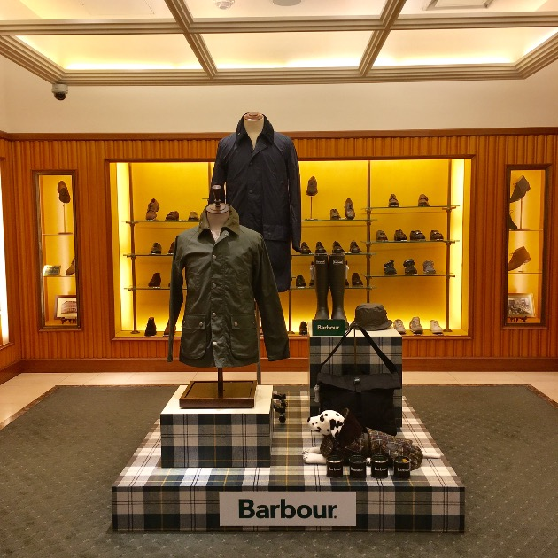 <Barbour(バブアー)>POP UP SHOP総集編