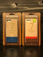 <MAN&WOOD(マンアンドウッド)>iPhone case