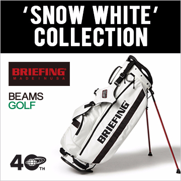 "<BRIEFING × BEAMS GOLF> ""SNOW WHITE"" COLLECTION"