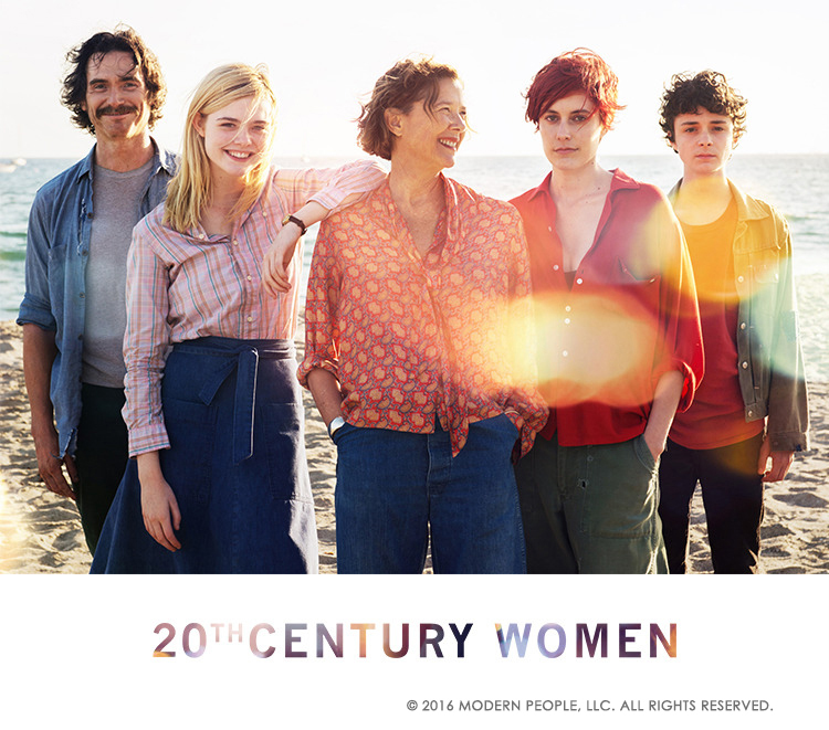 "Mike Mills new film, ""20th Century Woman"" collab project commencing!"