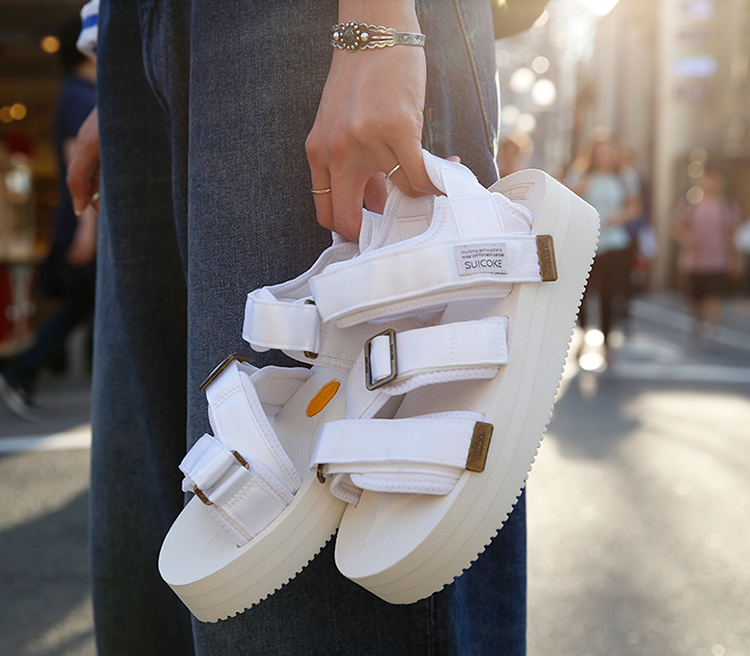 <Ray BEAMS> are announcing their bespoke version of the popular <SUICOKE> sports sandal.