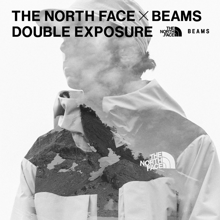 <BEAMS> first-time collab with outdoor brand <THE NORTH FACE>