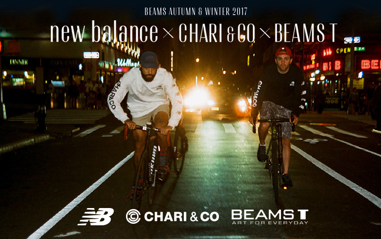 new balance × CHARI&CO × BEAMS T