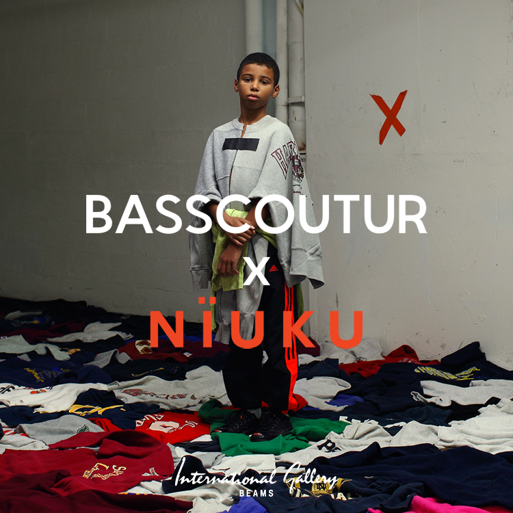 "bespoke pieces with ""BASSCOUTUR NÏUKU"" from Paris"