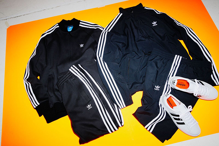 <adidas Originals> and <BEAMS> collab on a series
