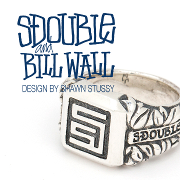 <S/DOUBLE × Bill Wall Leather>コラボレーションリング発売