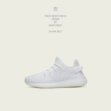 adidas Originals「YEEZY BOOST 350 V2」の抽選販売スタート