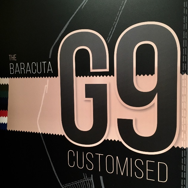 THE BARACUTA G9 CUSTOMIZED ORDER EXHIBITION