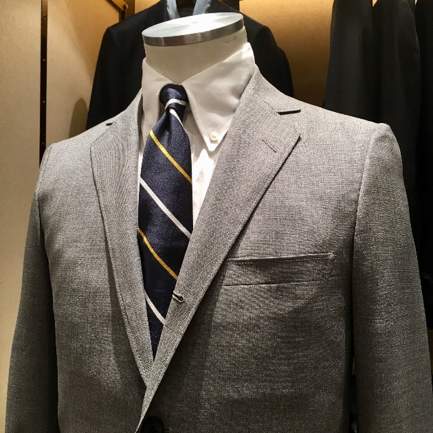 BEAMS PLUS GREY SUITS