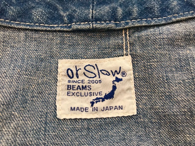 orSlow×BEAMS JAPAN Special Item!more!