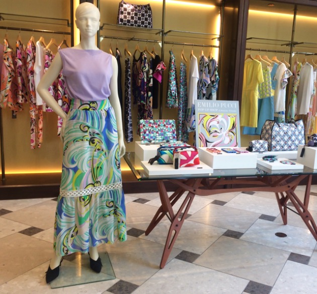 〈EMILIO PUCCI〉POP UP SHOP 開催中です!
