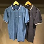 <Fred Perry>インディゴ調シリーズが熱い!!