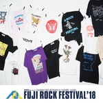 FUJI ROCK FESTIVAL'18×BEAMS Tシャツ予約受付中!
