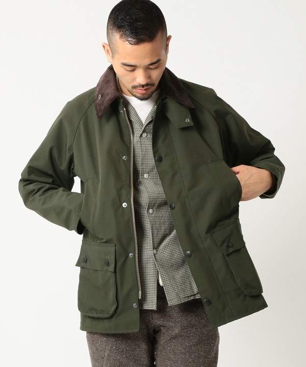 Barbour × BEAMS PLUS 別注 BEDALE 2 Layer