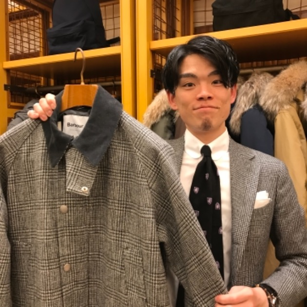 <Barbour>モッくんの好み。