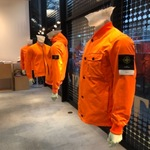 STONE  ISLAND POP UP STORE IN BEAMS HARAJUKU