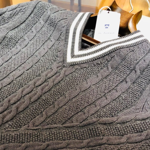 今週の新作NO.1ニットはMc LAUREN(MONOTONE/HERITAGE PATTERNED KNIT)