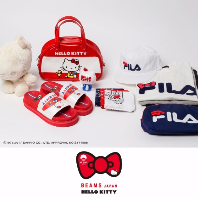 【HELLO KITTY×FILA×BEAMS JAPAN】START!!