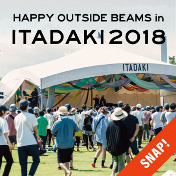 【EVENT SNAP】HAPPY OUTSIDE BEAMS in ITADAKI 2018