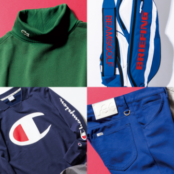 BEAMS GOLF 2018 A/W SPECIAL ITEMS