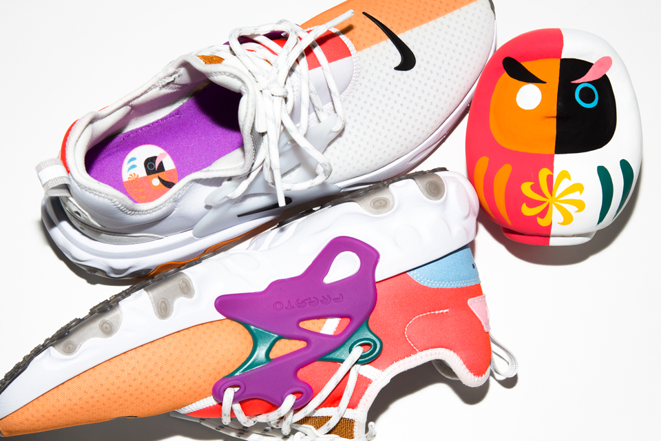 4603cc61d9c BEAMS' release NIKE REACT PRESTO DHARMA special model exclusively in Japan