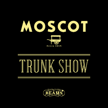 アイウエアブランド<MOSCOT>のトランクショーを2店舗で開催
