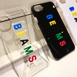 2c1f63abe8 bPr BEAMS(bPrビームス)BEAMS / カラーロゴ iPhone8・7ケース(雑貨 ...